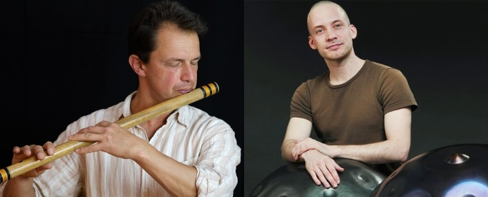 KONZERT: DAVID KUCKHERMANN (HANG, HANDPAN) UND TOBIAS BÜLOW (BANSURI, PERCUSSION)
